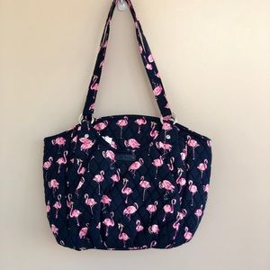 Vera Bradley Flamingo Fiesta Glenna Bag